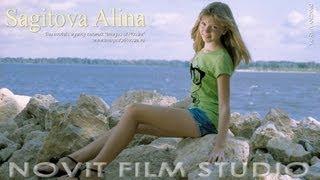 "MODEL PHOTO GALLERY ""My summer on the Volga"" Alina Sagitova."