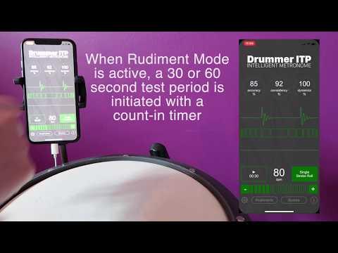 Drummer ITP: Intelligent Metronome - App Walkthrough