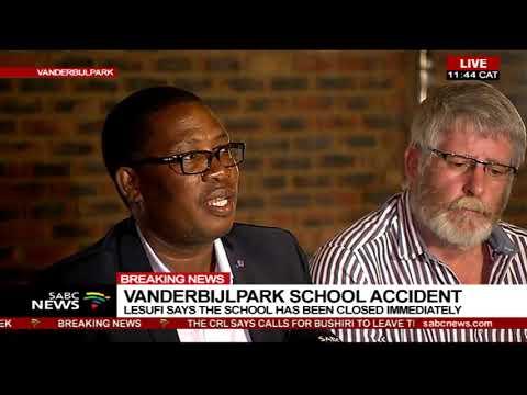 MEC Lesufi provides an update on Hoërskool Driehoek tragedy