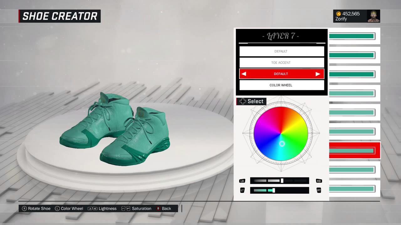 abfddaf0967d78 NBA 2K17 Shoe Creator - Air Jordan 23 Custom