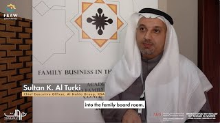 FBAW Conference - Insights by Sultan K. Al Turki