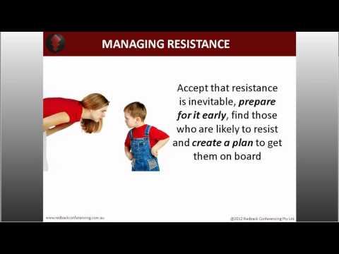 Accept, Embrace and Shift - Change Management Techniques