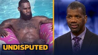 Rob Parker: LeBron 'doesn't appreciate fans' after no-showing to LA pizza party | NBA | UNDISPUTED