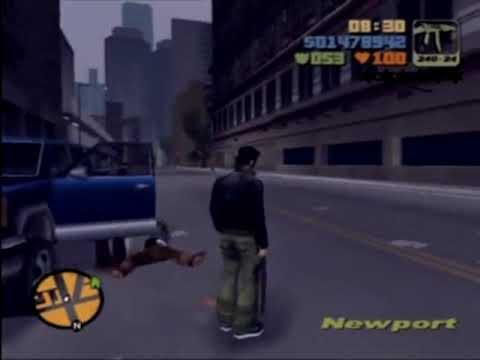 Grand Theft Auto III Gameplay (Playstation 2) - YouTube