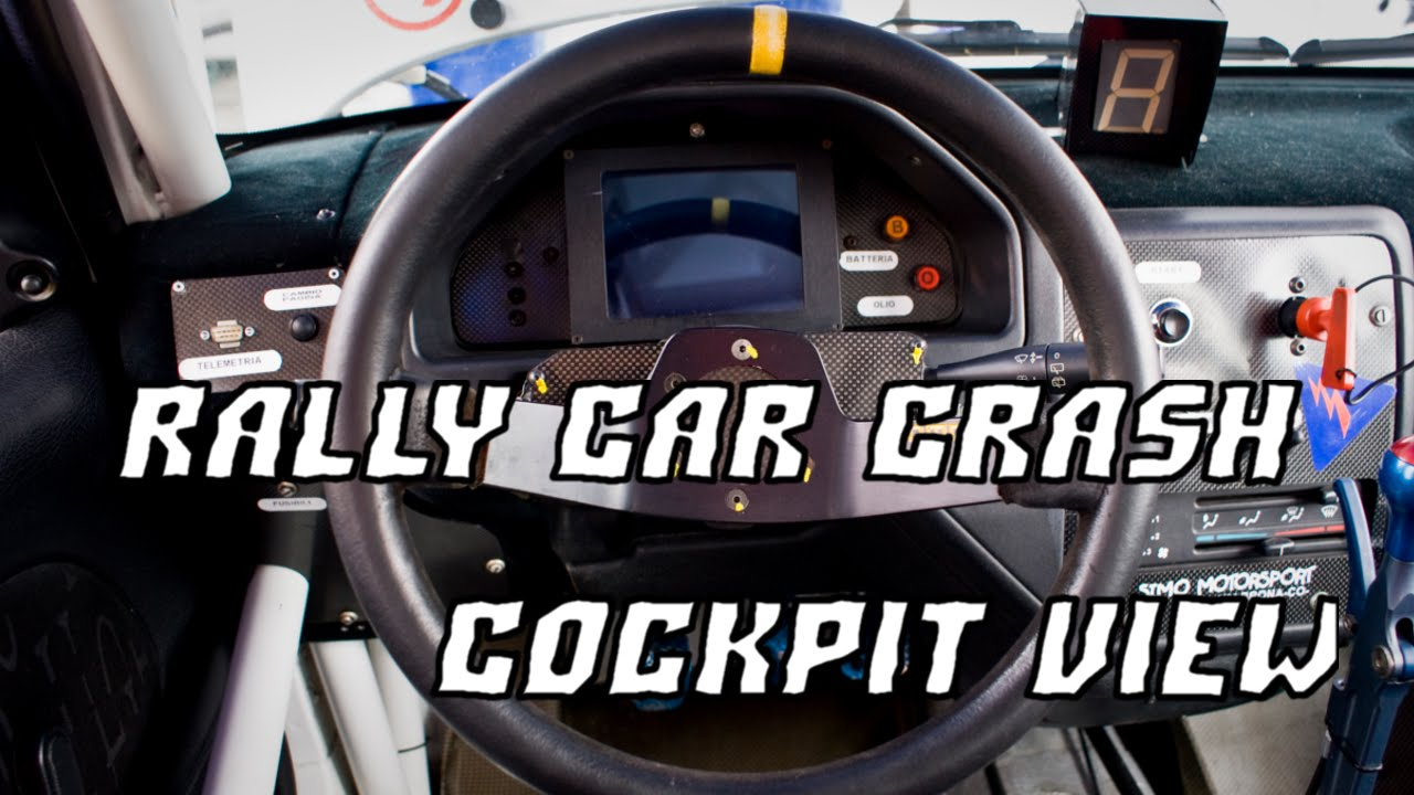 new car crash accident rally cockpit cam dec 2014. Black Bedroom Furniture Sets. Home Design Ideas