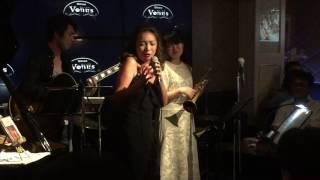 銀座ビーナス、小林麻里さんジャズライブ、特別出演ジプシープリンセス👍
