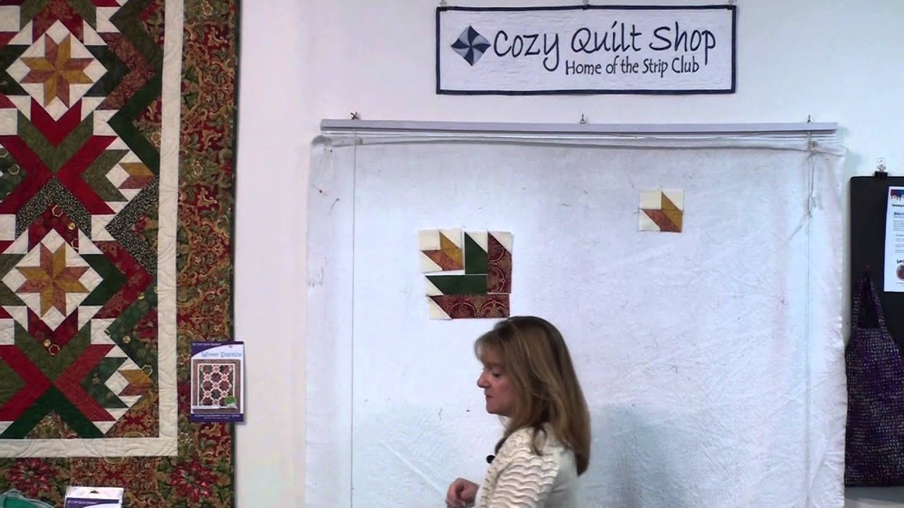 Winter Solstice - Strip Presentation by Cozy Quilt Designs - YouTube : cozy quilts youtube - Adamdwight.com
