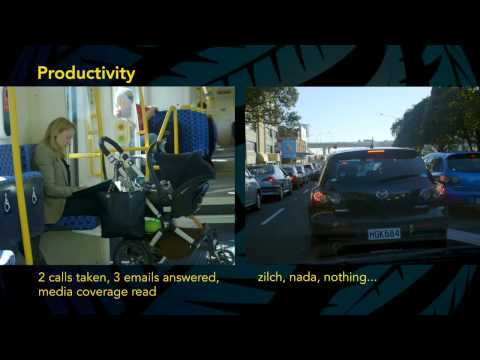 Public Transport vs Car comparison - Auckland