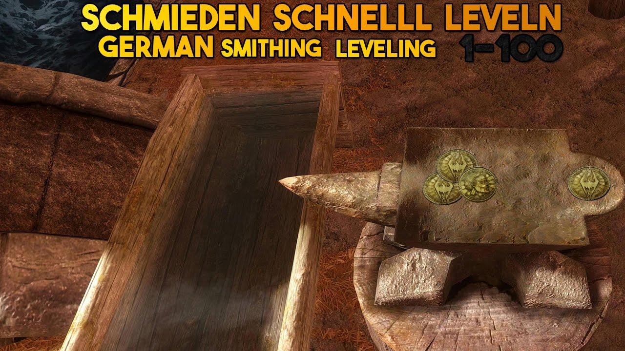 Skyrim Schmieden Leveln