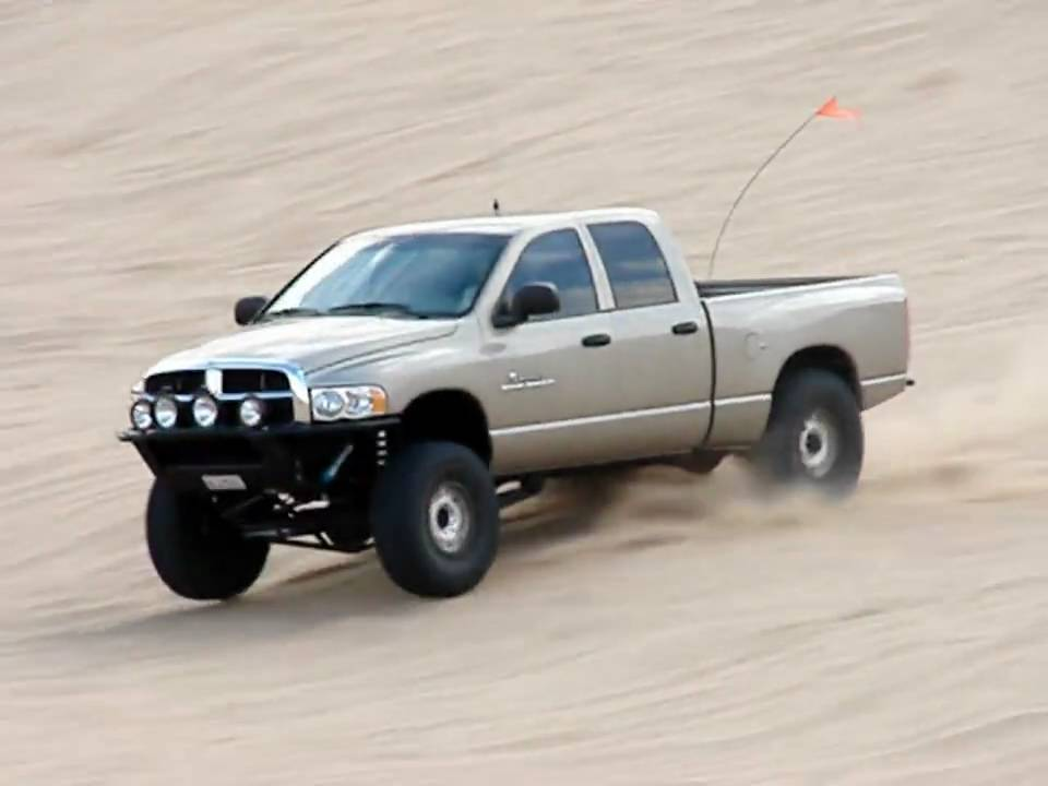 Thuren Fabrication Dodge Ram Extreme Travel Cantilever
