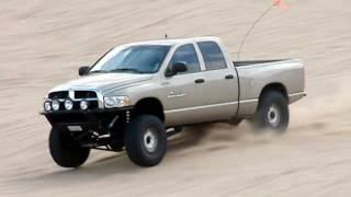 THUREN FABRICATION Dodge Ram Extreme Travel Cantilever system