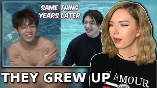 Cover images bts doing the same thing years later reaction // itsgeorginaokay
