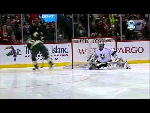 Full shootout Mar 30 2013 LA Kings vs Minnesota Wild NHL Hockey