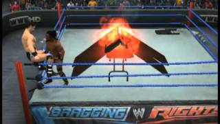 WWE SmackDown vs. RAW 2011 Arm Drag through 5 tables