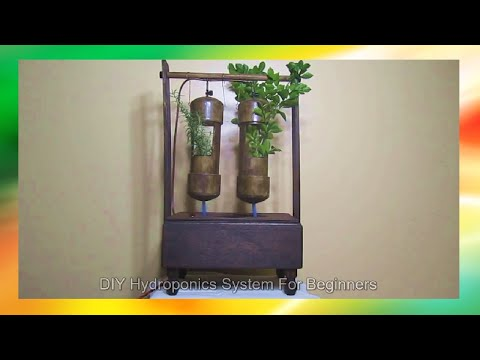DIY Hydroponics System For Beginners – Vertical Tower Grow Station And Animal Fodder Systems