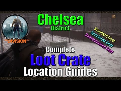 Tom Clancy's The Division | Complete Loot Crate Location Guide | Chelsea District | Full Guide
