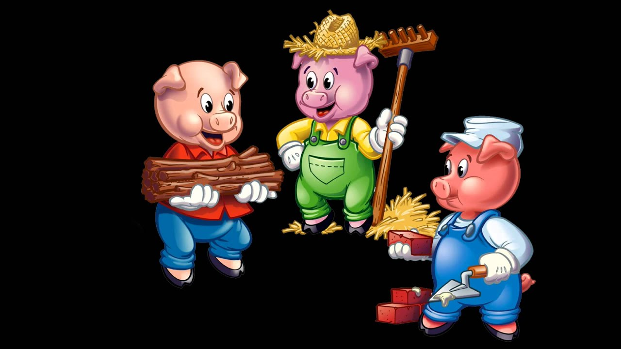 Three Little Pigs - Narrated Children's Books