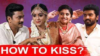Thirumanam Couples Demo Kiss to Malar Couples | Colours TV Serial | Siddhu and Shreya