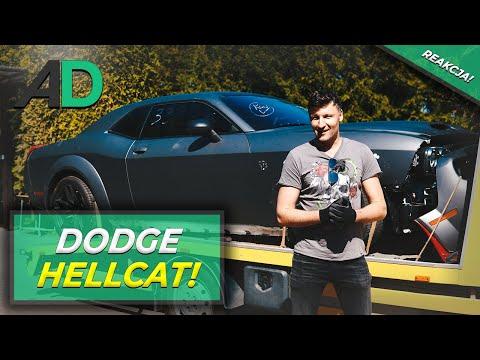 Bestia Z 797 KM Pod Maską. Krystian Odbiera 2019 Dodge Challenger SRT HELLCAT REDEYE WIDEBODY.