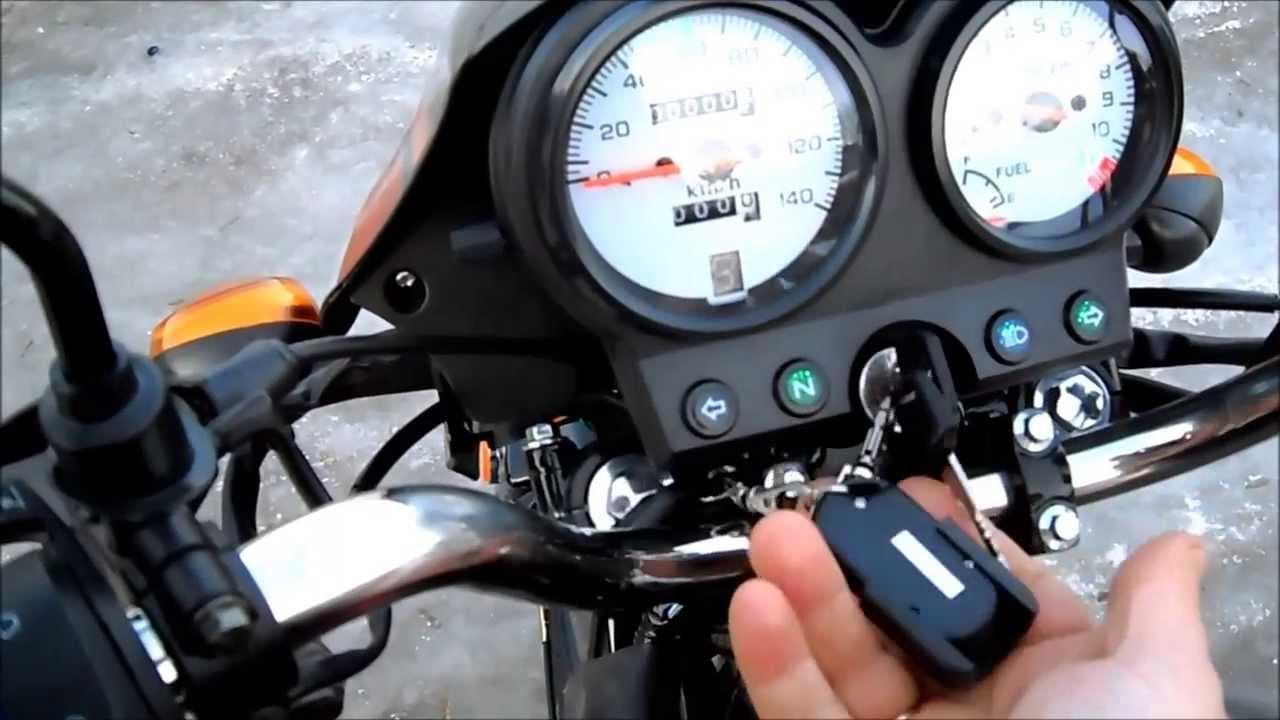 Детский мини мотоцикл - YouTube