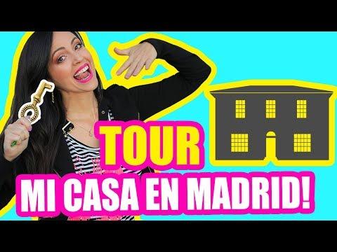 PISO/APARTAMENTO TOUR - MI CASA EN MADRID POR 1 MES! SandraCiresArt