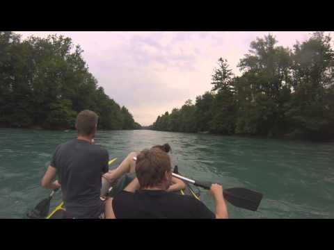 Rafting On The River Aare