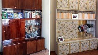 видео ремонт старой мебели