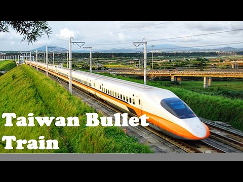 Fast Bullet Train Taipei To Kaohsiung | VLOG#122