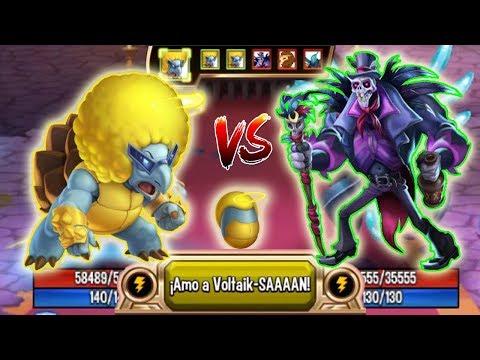 Monster Legends Imigbo Level 130 Vs Baron Traitor Combat Best Support Monster