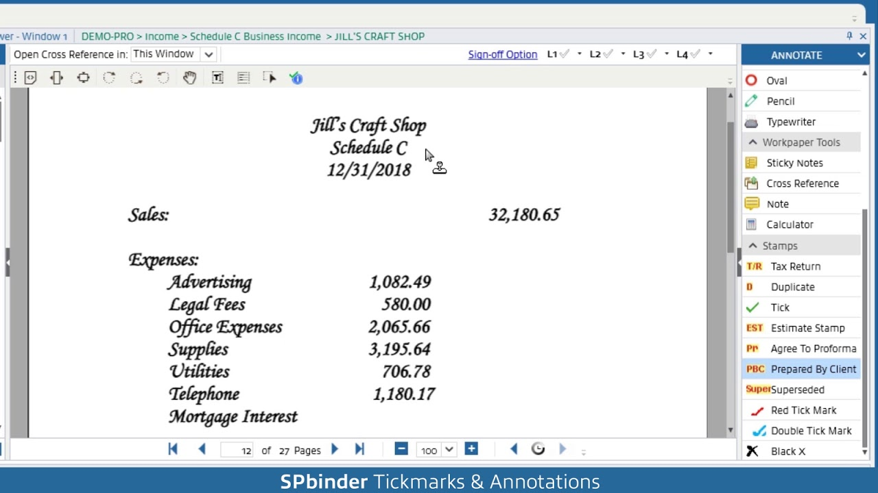 Automated Pro Tax Workpaper Software - SPbinder | SurePrep