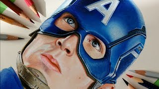 Drawing Cap America from the film