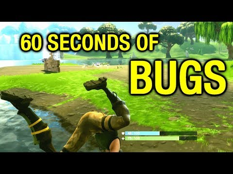 Fortnite Bugs In 60 Seconds 🎮