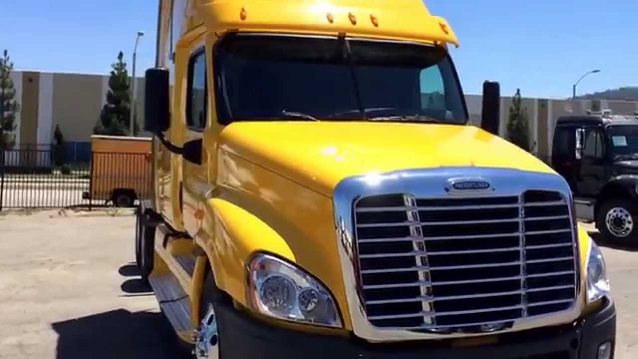 2013 Freightliner Cascadia Condo Sleeper For Sale California Low Miles
