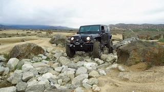 Off Road Testing of the New Lift and Suspension on the Jeep Wrangler JKU Rubicon  on 37