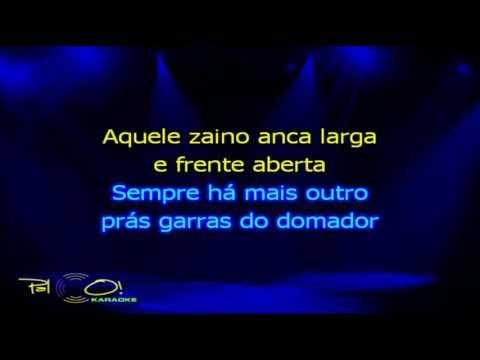 Os Serranos   Ginete de fronteira - Karaoke