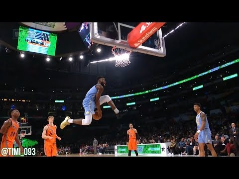 Jaylen Brown Team USA Highlights vs Team World at 2018 Rising Stars (35 pts, 10 reb)