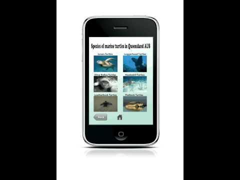 """prototype for """"Marine reptiles of Queensland"""" app"""