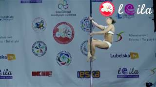 Agata Jarzębowska - First place - World championship air power athletics 2017