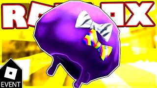 [EVENT] HOW TO GET PURPLE PARTY FRO ON ROBLOX!
