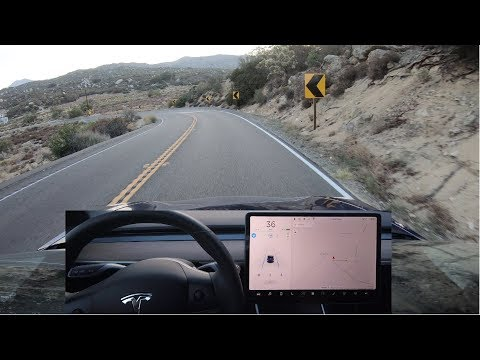 Tesla Autopilot Fast on Winding Roads - 2018.26.3 Mp3
