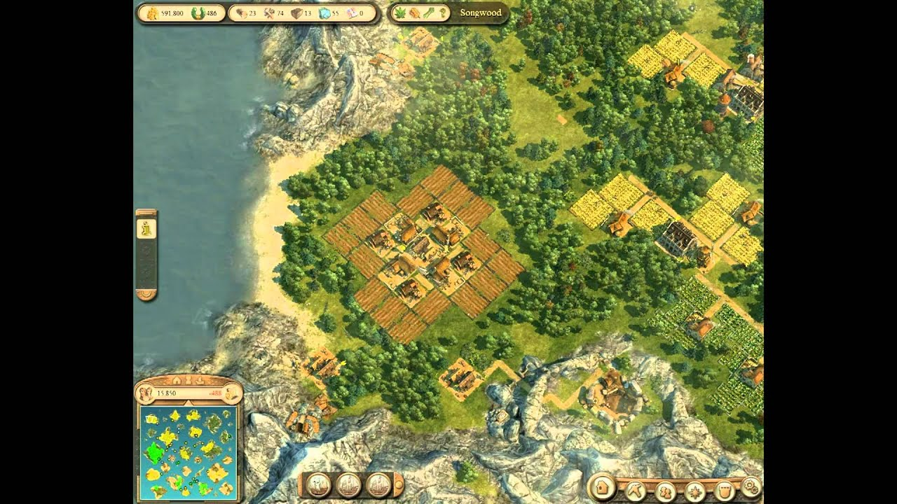Anno 1404 Efficient Building Layouts.Anno 1404 Venice Efficient Building Layout Ropes Youtube