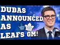 Kyle dubas is the new maple leafs gm mp3
