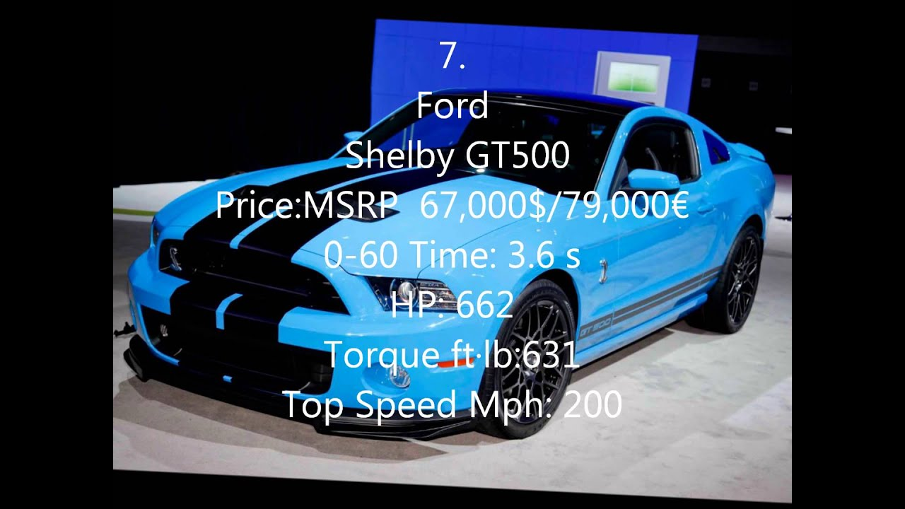 Top 10 Sports / Muscle Cars Under 80,000 $/u20ac   YouTube