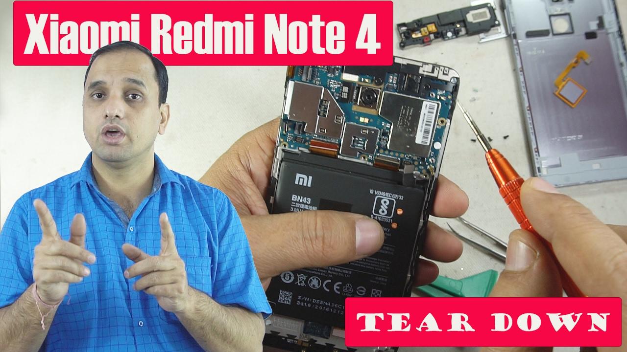 Xiaomi Redmi Note 4: Teardown (in Hindi)