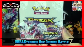 Pokemon Cards - XY BREAKthrough Booster Box Opening Battle vs Pokesisters