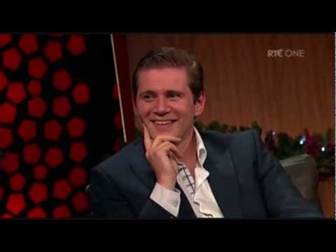 Allen Leech on the Late Late Show [Recut]
