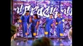 Rock Steady Crew mit Uprock im deutschen TV (Musikladen)