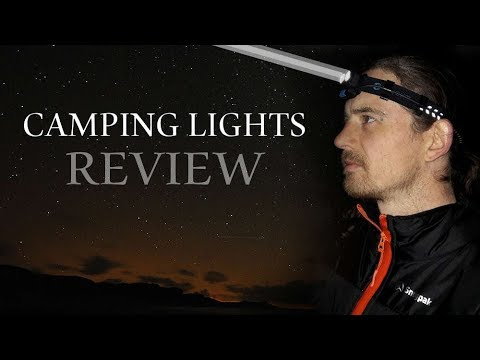 Best Lights For Camping - Headlights & Torches