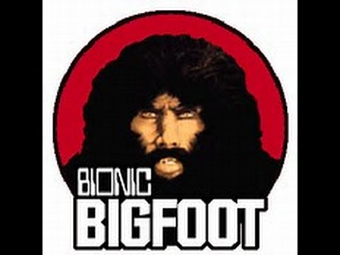 Six Million Dollar Man Bionic Bigfoot Kenner Toys 1977