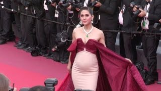 Pregnant Araya Hargate, Sonam Kapoor and more on the red carpet in Cannes